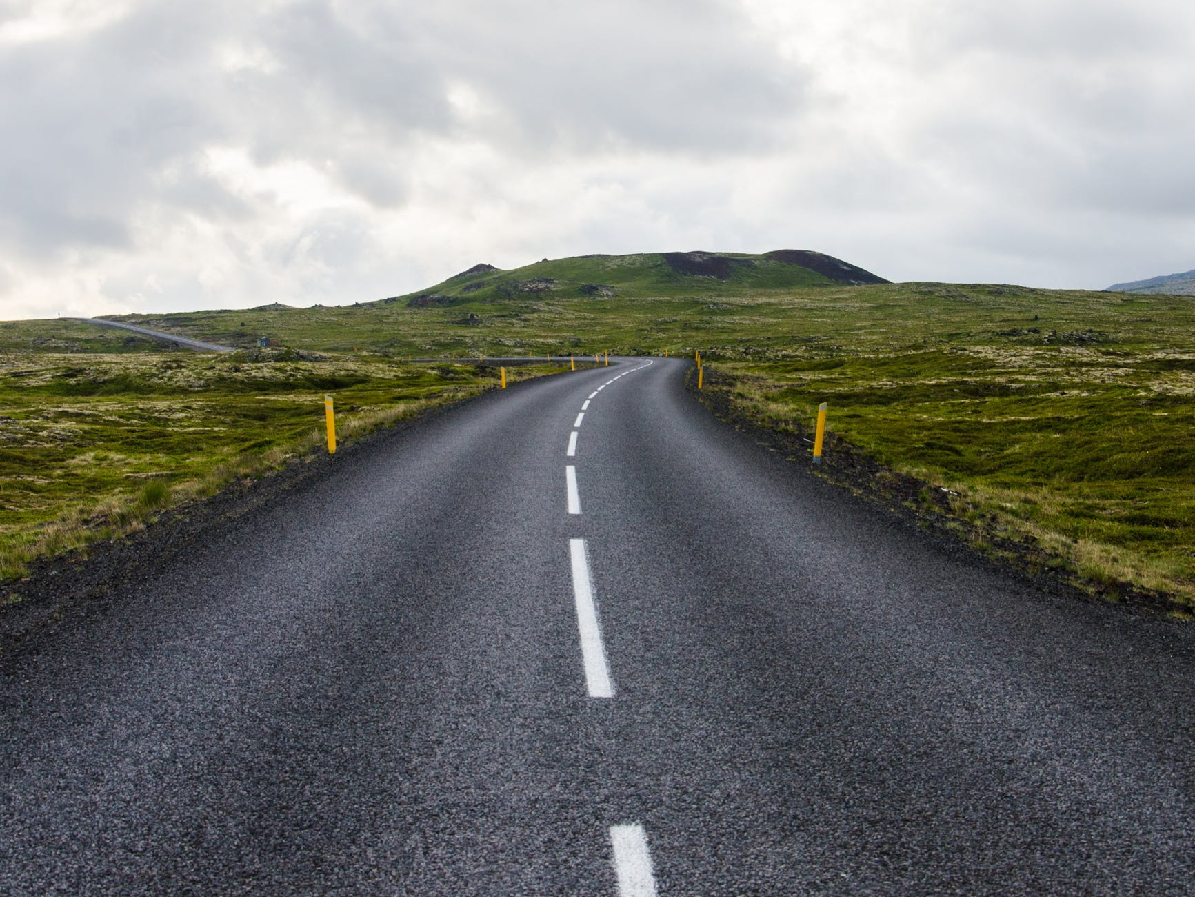 adventure asphalt clouds country