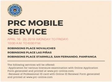 PRC Mobile Service